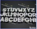 Буквы по 50 тенге / буквы А нет в наличии/