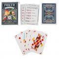 """Игральные карты """"Покерные"""", 54 карты, 6,3 х 8,8 см"""