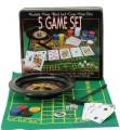 """Набор для игры в покер """" 5 игр"""""""