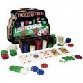 Набор для покера на 200 фишек в коробке